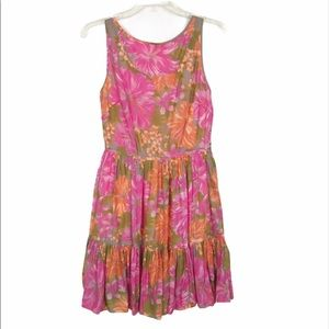 TRACY FEITH for TARGET Cotton Floral Dress Size 9